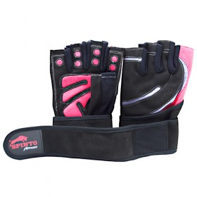 Men's Workout Glove w/ Wrist Wraps